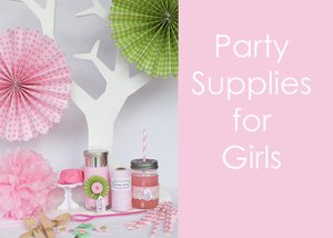 Girls Party Supplies